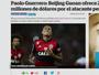 Rodrigo Caetano: notícia de proposta chinesa por Guerrero é sensacionalista