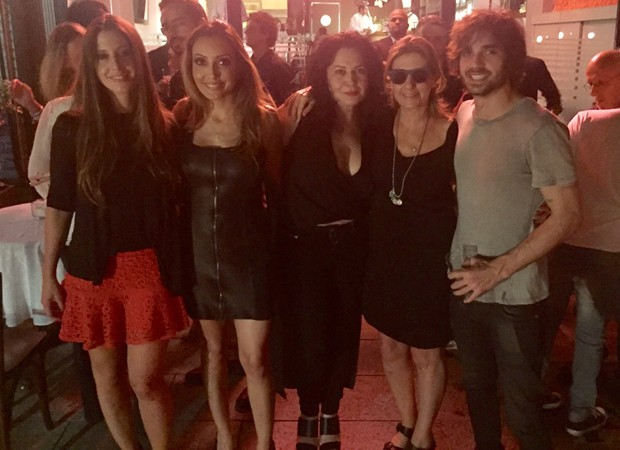 Krizia Ayrosa, Tainá Galvão, Cristina Kartalian, Mary Nigri e Fiuk (Foto: Reprodução/Instagram)