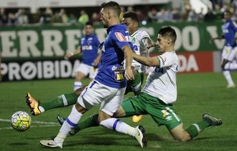 Na estreia de Caio Jr., Chapecoense vence e freia sequência do Cruzeiro