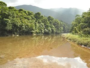 Rio Cubatão é um dos principais da cidade (Foto: Divulgação Secom/PMC)