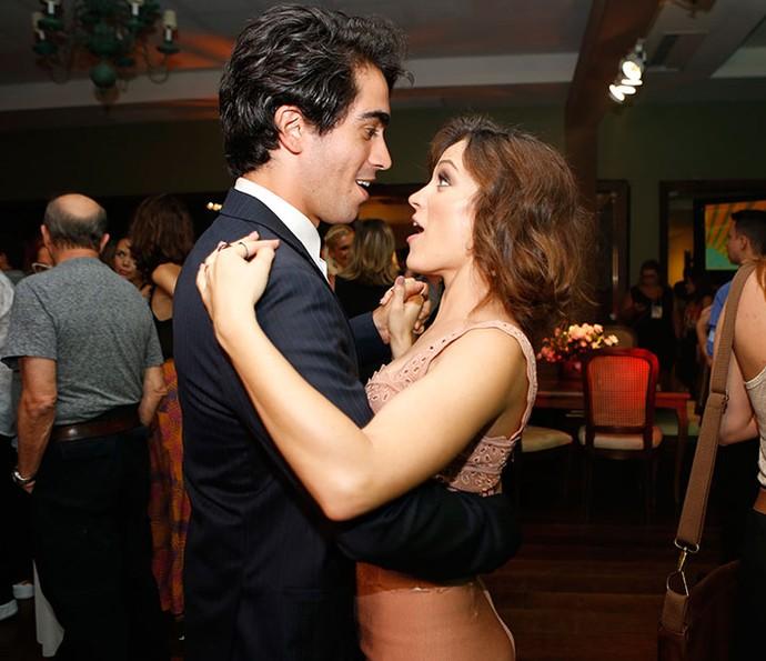 Bianca Bin dança com o marido, Pedro Brandão (Foto: Ellen Soares/Gshow)