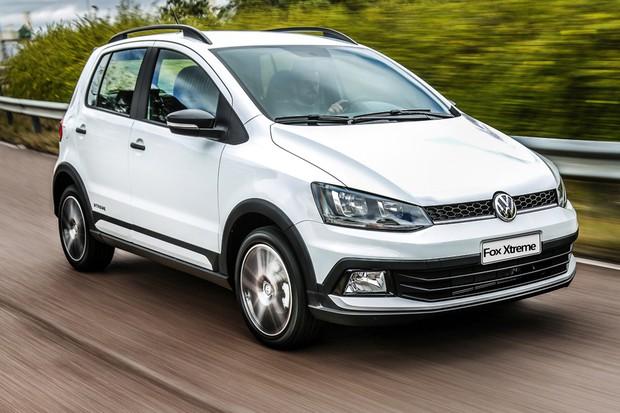 Volkswagen Fox Xtreme 2018 dianteira (Foto: Divulgação)