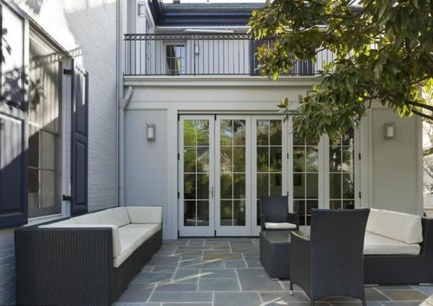 Lounge no quintal (Foto: Reprodução)