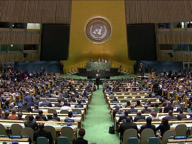 Cúpula do Clima 2014 discute aquecimento global na sede da ONU em Nova York - GNews (Foto: Reprodução/GloboNews)