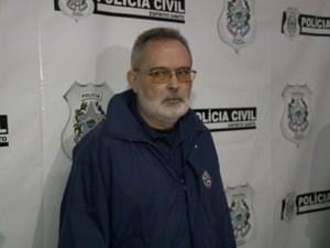 Diplomata espanhol depõe na Polícia Civil do Espírito Santo (Foto: Reprodução/ TV Gazeta)