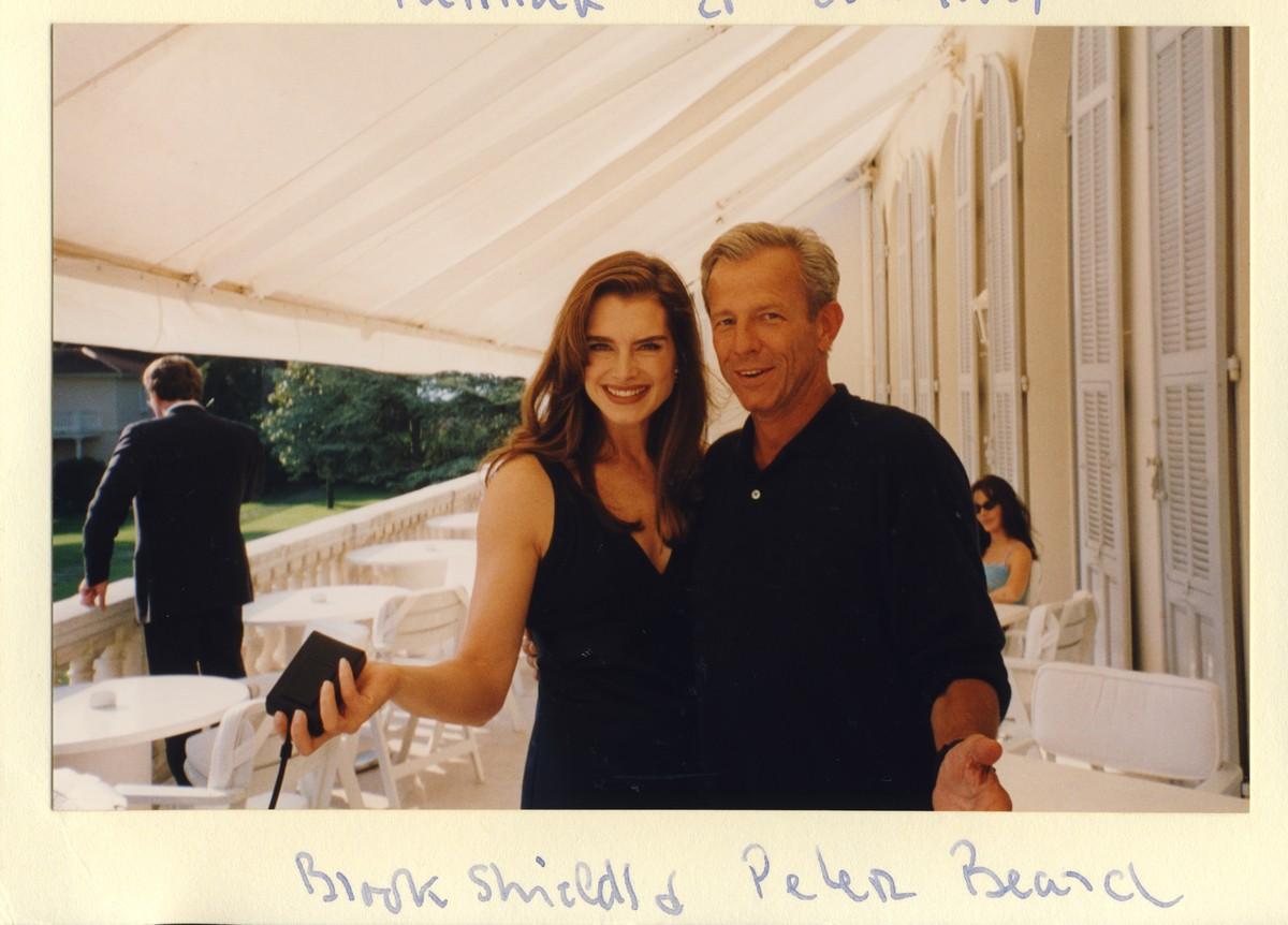 Brooke Shields e Peter Beard. (Foto: Divulgação)