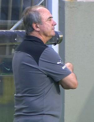 Técnico Levir Culpi comandou o Atlético-MG na partida contra o Sport (Foto: Reprodução/Premiere)