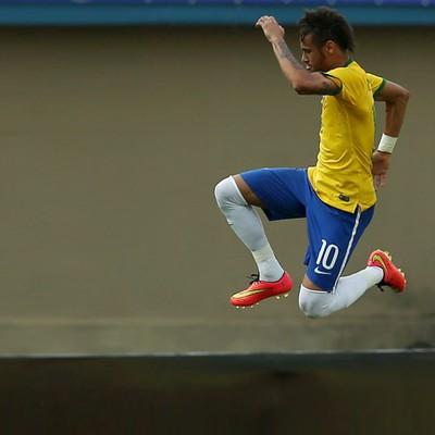 Neymar gol Brasil x Panamá (Foto: Mowa Press)