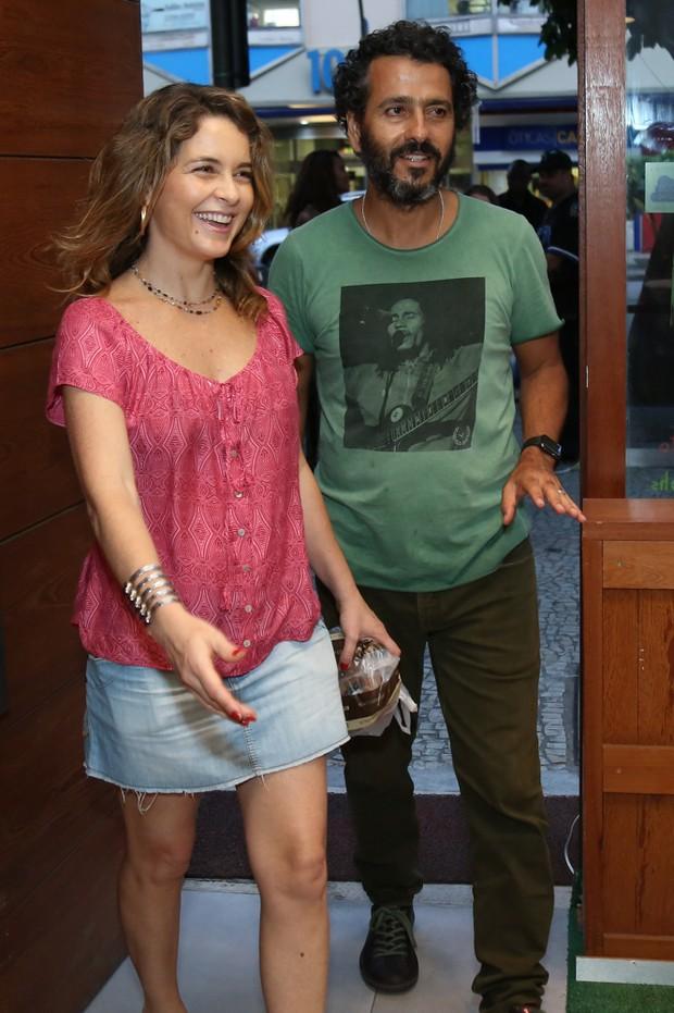 Cláudia Abreu e Marcos Palmeira (Foto: Roberto Filho/Brazil News)