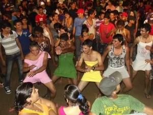 Carnaval de Ariquemes em 2012 (Foto: Semcom/Divulgação)