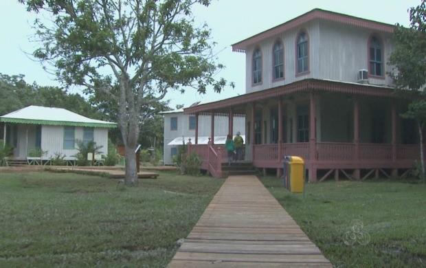 Sítio Histórico do Quixada fica a 20 quilômetros da capital (Foto: Reprodução TV Acre)