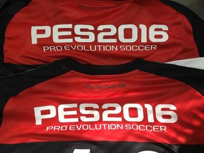 Flamengo exibirá a marca do PES 2016 no jogo com o Bangu (Foto: Divulgação/Flamengo)