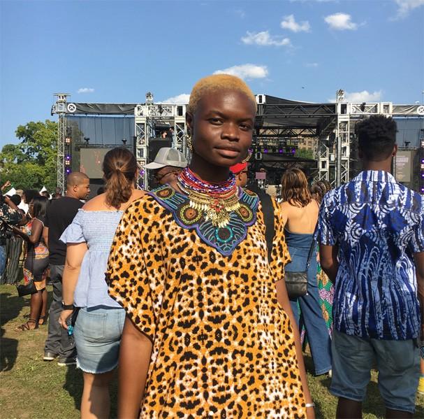 Cabelos do Afropunk (Foto: Reprodução Instagram @sunfuckinflower )