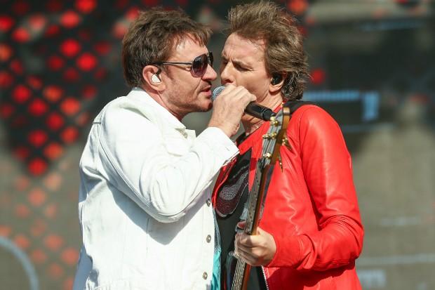 Simon Le Bon e John Taylor (Foto: Manuela Scarpa e Iwi Onodera/Brazil News)