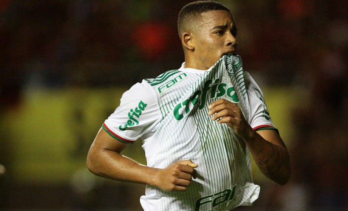 Sport x Palmeiras Gabriel Jesus (Foto: Marlon Costa / Pernambuco Press)