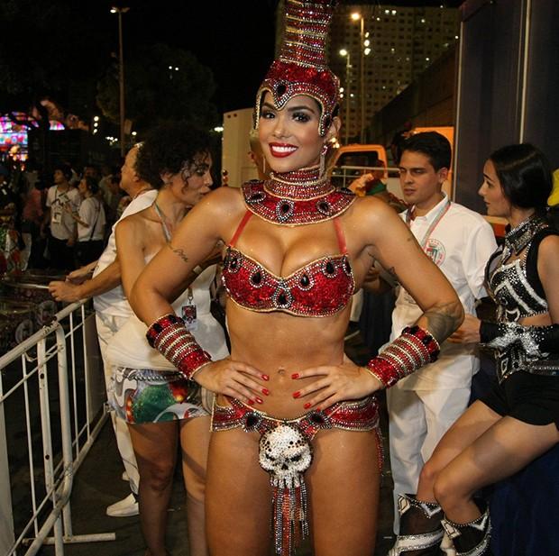 A ex-BBB Maiara (Foto: Sergio Gallo/ Ed. Globo)
