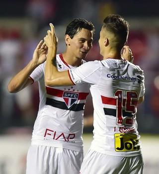 Ganso João Schmidt São Paulo Trujillanos Libertadores (Foto: Marcos Ribolli)