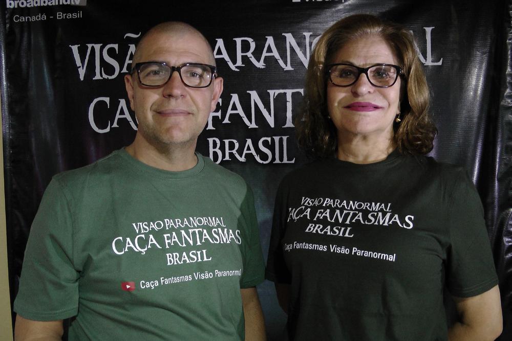 Joo Tocchetto de Oliveira e Rosa Maria Jaques (Foto: Divulgao)