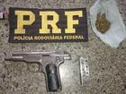Homem é preso pela PRF com arma, droga e munições no litoral do Piauí