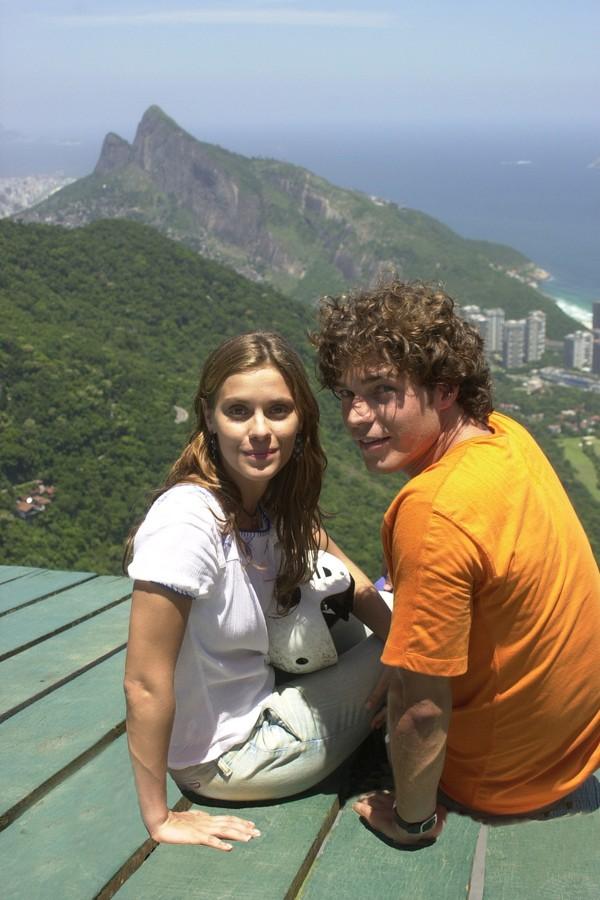 Erik Marmo e Carolina Dieckmann (Foto: TV Globo)