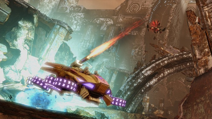 A qualquer momento do jogo você pode se transformar e mudar a dinâmica do combate (Foto: n1nintendo.nl)