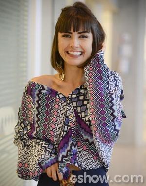 Patrícia é ícone fashion de Amor à Vida (Foto: Amor à Vida/TV Globo)