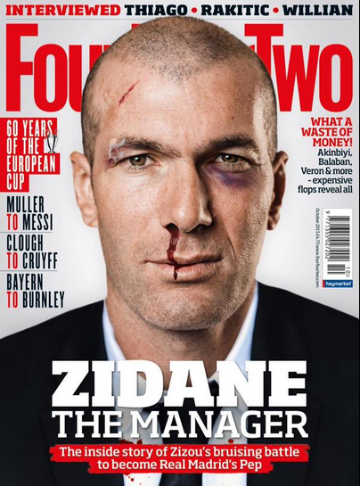 Zidane capa Four Four Two