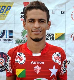 Huenne Douglas (Cuiabá), 19 anos, lateral Rio Branco-AC (Foto: Duaine Rodrigues)