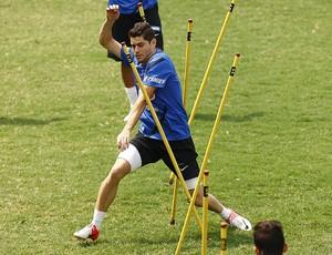 Miralles Santos (Foto: Ricardo Saibun / Divulgação Santos FC)