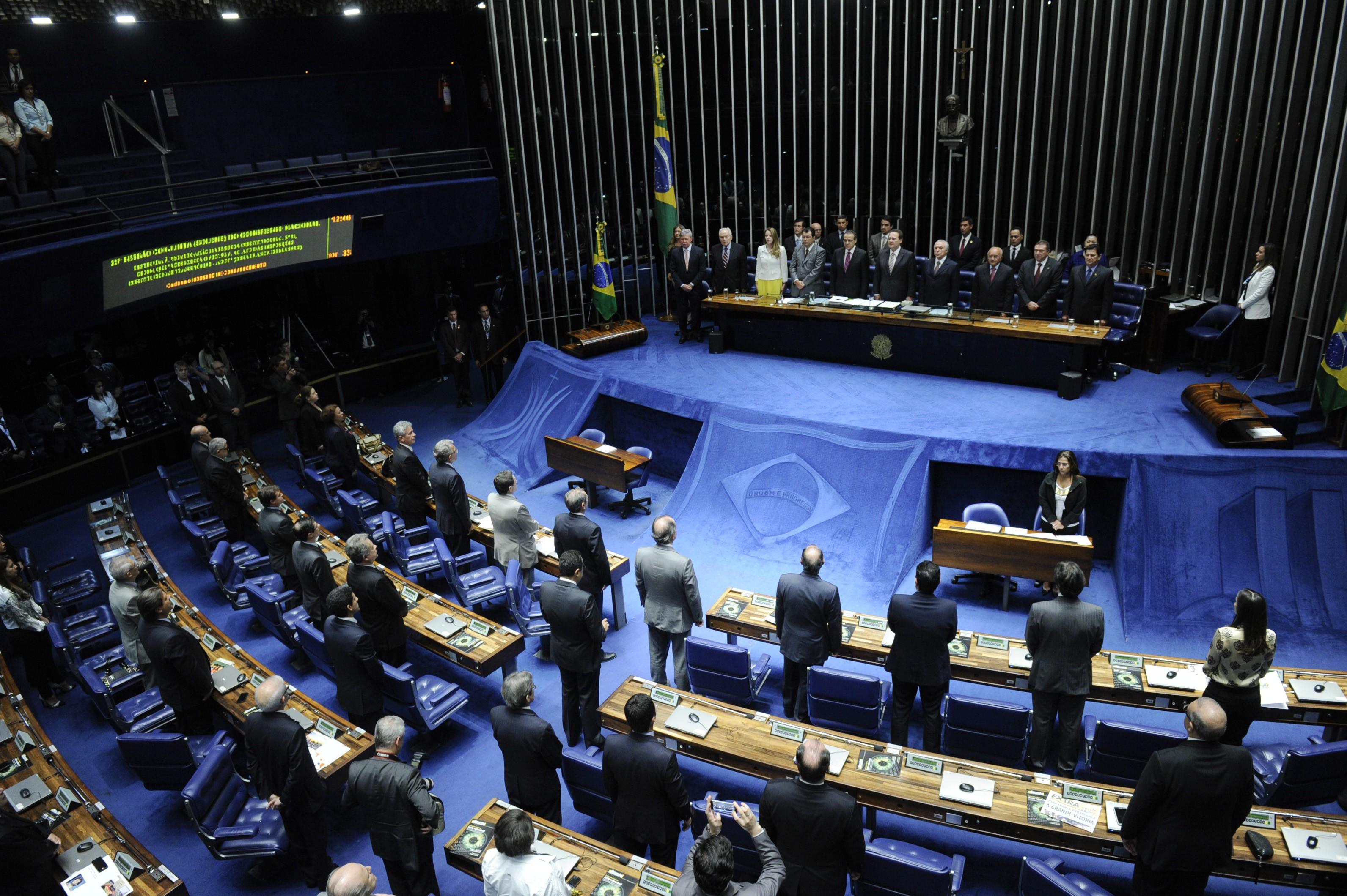 Plenário do Congresso, em 2014 (Foto: Senado Federal)