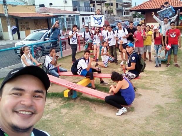 Pokémon go, Amapá, Macapá, jogo, (Foto: Divulgação/Team GeO AP)