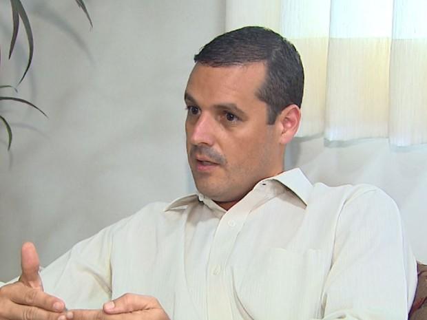 Leandro Alves Librandi, filho de Maria Zuely, investigada pela Operação Sevandija (Foto: Reprodução/EPTV)