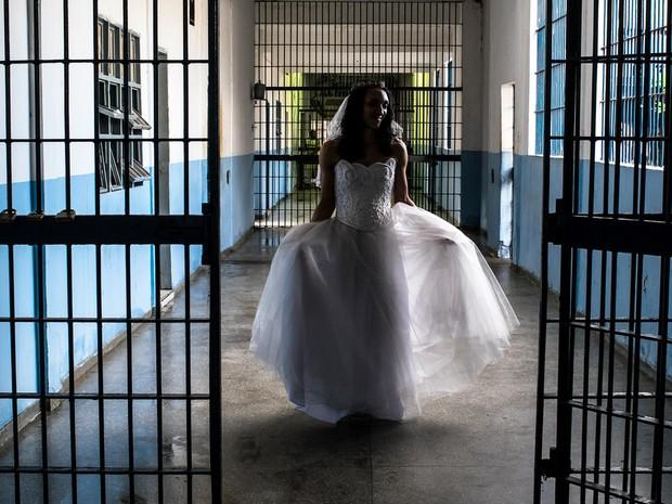 Casamento homoafetivo no Centro de Ressocialização de Cuiabá (CRC). (Foto: José Medeiros/GCOM-MT)