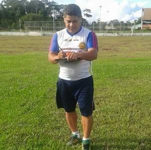 Para Célio Ivan não há favorito no confronto entre Gurupi e Rio Branco (Foto: Célio Ivan/Arquivo Pessoal)