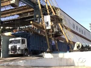 Usina Uruba volta a funcionar (Foto: Reprodução / TV Gazeta)