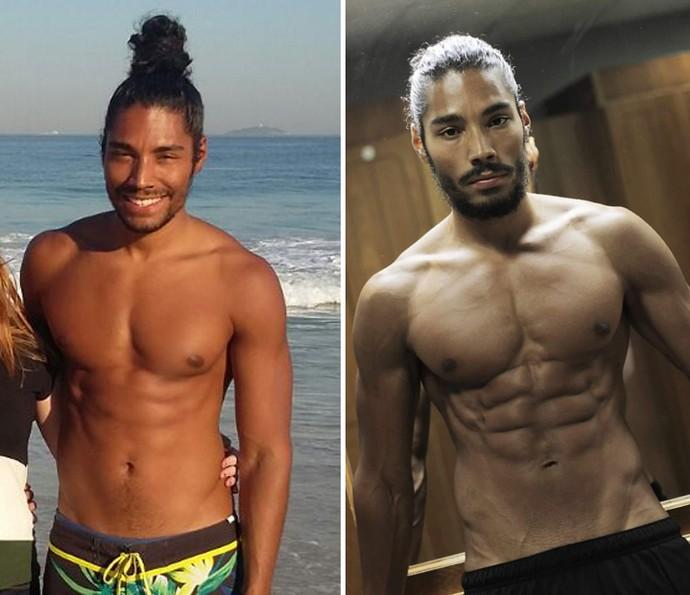 Ator Diogo Sales conta como está sendo preparação para o 'Saltibum 2016' e diz que perdeu 7 kg em um mês!  (Foto: Arquivo pessoal)
