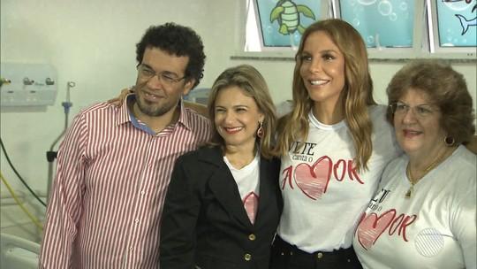 Ivete anuncia novos shows para ajudar Hospital Martagão Gesteira