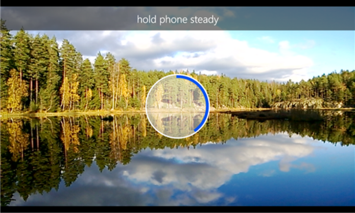 Nokia Panorama funciona nos smartphones Lumias (Foto: Divulgação/Nokia)