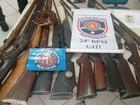 Homem é detido com munições e 13 armas de fogo em Fazenda Nova, PE