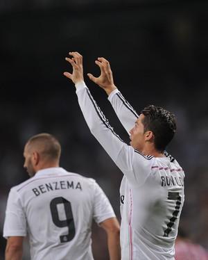 Benzema e Cristiano Ronaldo Real Madrid (Foto: Getty)