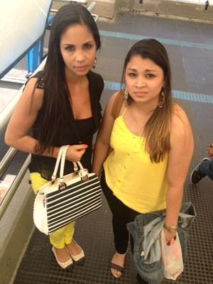 Patrícia e Evelin foram vítimas de assédio e abuso sexual no transporte público (Foto: Kleber Tomaz / G1)