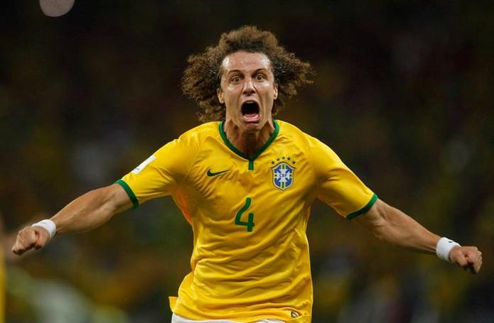 David Luiz, zagueiro da seleção brasileira (Foto: Reprodução/Facebook/CBF)