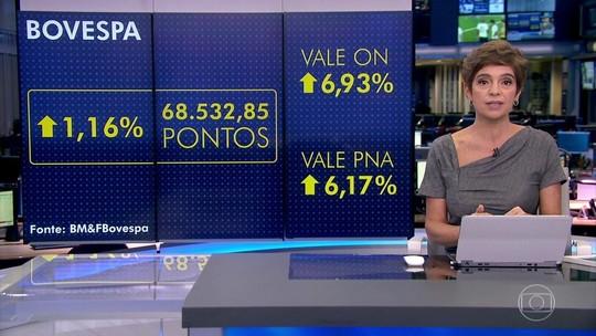 Bolsa de SP sobe mais de 1% e atinge o maior nível em 6 anos