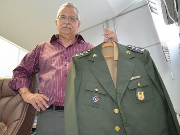 Capitão Carlos Gomes da Silva, Piracicaba (Foto: Thomaz Fernandes/G1)