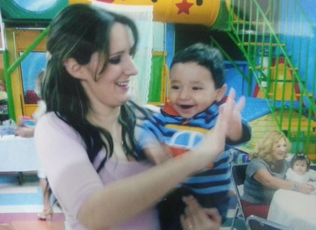 Marina e David, quando bebê (Foto: Arquivo pessoal/ Marina de Menezes)