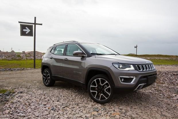 Jeep Compass 2018 (Foto: Divulgação)