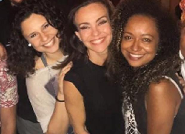 Francis Helena, Flávia Monteiro e Aretha Oliveira (Foto: Reprodução/Instagram)