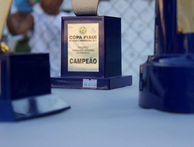 FFP comete gafe e entrega taça de campeão com preço a mostra: R$ 67 (Foto: Renan Morais)