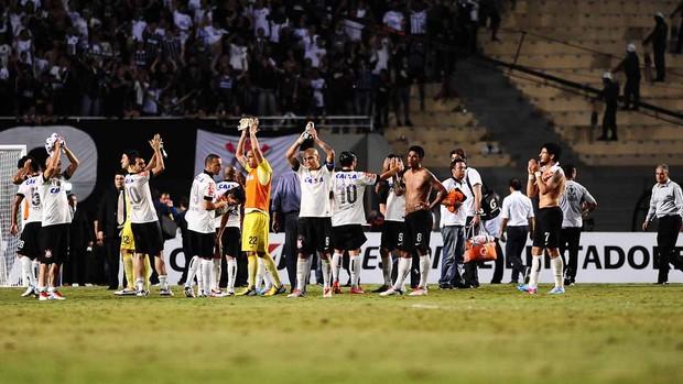 Jogadores do Corinthians x Boca (Foto: Marcos Ribolli / Globoesporte.com)
