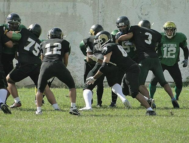 No início de junho, o Rio Branco Cabritos enfrentou o Ipatinga Tigres (Foto: Divulgação/Cabritos)